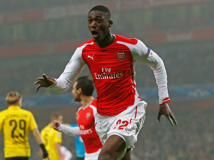 """A statement on Arsenal's website read: """"A former France under-21 international, Sanogo arrived at Arsenal from Auxerre in July 2013. He helped the Gunners to win the FA Cup in his debut season, featuring in both the semi-final and the final."""