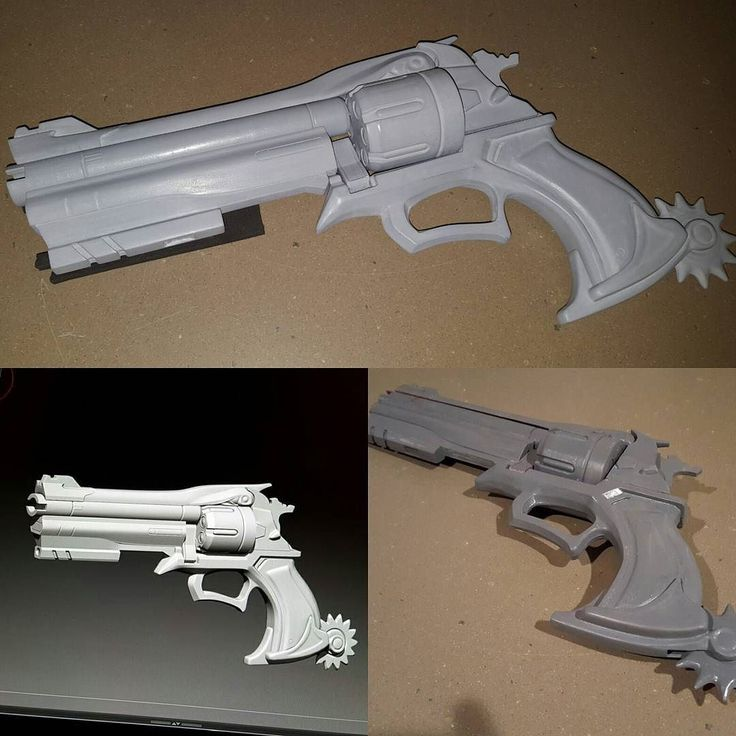 If I were to open a few pre order slots on raw kits for the McCree revolver at $100 (this would be a preorder discount) how many people would be interested. It would mostly be to cover the costs of molding and casting. I would be looking to have the kits ready by early to mid january. [ #cosplay #cosplaywip #props #3dprinting #overwatch #blizzard #mccree ] by squiby_art