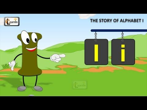 The I Song | Letter I song | Story of letter I | Abc songs | Learning english alphabet for children