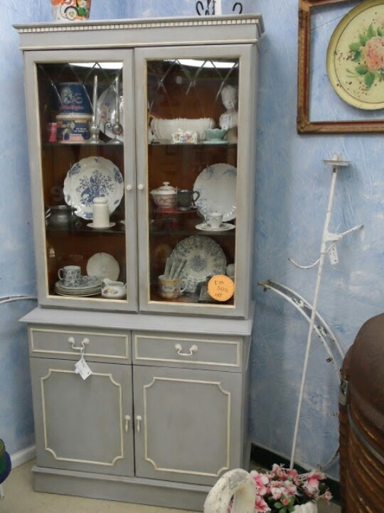 Repurposed China Cabinets