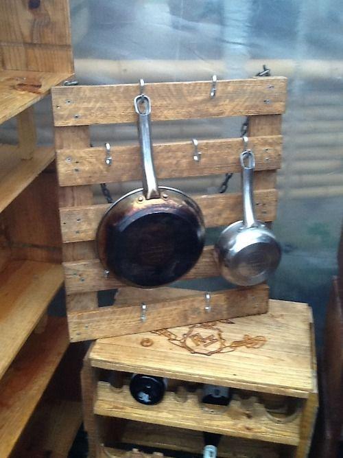 9 Best Images About Pot Pan Amp Lid Rack Ideas On