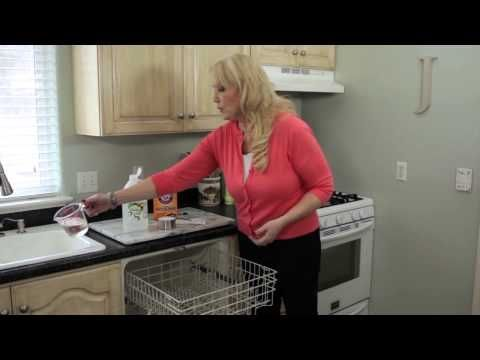 Videos - One Good Thing by Jillee - how to clean the inside of your dishwasher (vinegar & baking soda)