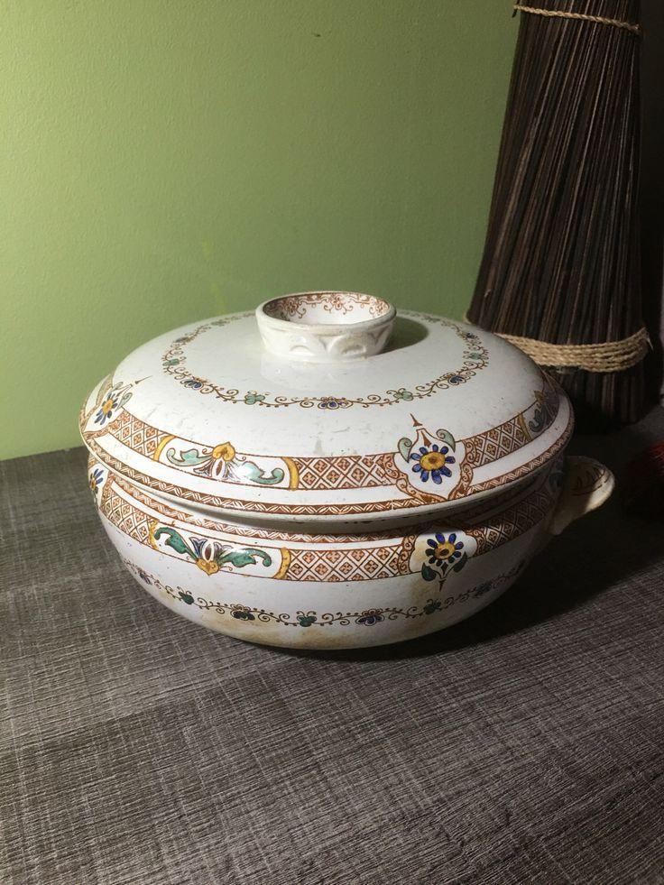 Le chouchou de ma boutique https://www.etsy.com/fr/listing/508610259/ancienne-soupiere-legumier-longwy-delft