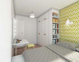 Sypialnia styl Skandynawski - zdjęcie od Boho Studio