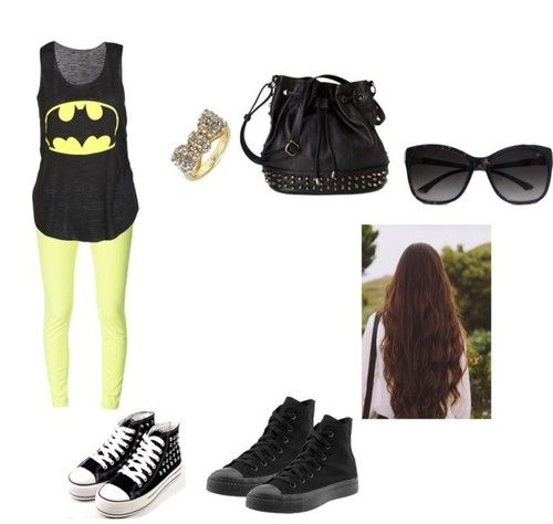 Batman meets tomboy outfit if only dream wardrobe - Cute tomboy outfits ...