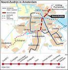in Amsterdam wordt een nieuwe metro lijn genaamt de noordzuitlein  3, 8km