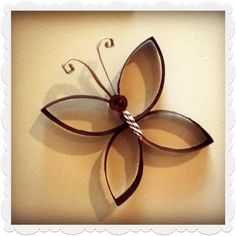 Home decor toilet paper roll butterfly, done several decorations with toilet paper lots of fun