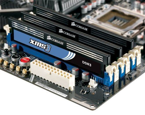 Corsair XMS3 4 GB 1333MHz PC3-10666 240-pin DDR3 Memory Kit for   Core i3 i5 i7 and   CMX4GX3M1A1333C9. These modules allow users to experience outstanding memory performance and stability. Backed by Corsairs Lifetime Warranty and excellent customer support. Outrageously fast 1333MHz performance using 4GB of memory with 9-9-9-24 latency at 1.5v. Corsair's mainstream memory solution 4GB (1x4GB) 1333MHz 9-9-9-24 for AMD and Intel Core i3, i5 and Core i7 dual channel memory...