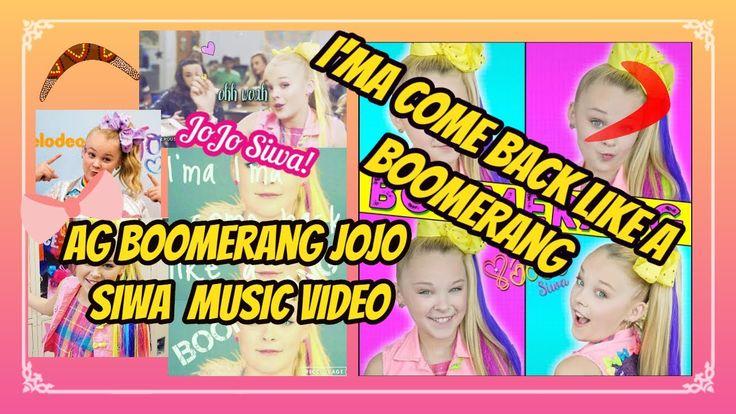BOOMERANG JoJo Siwa music video (AG doll version) /FluffyBunnyAGStudios