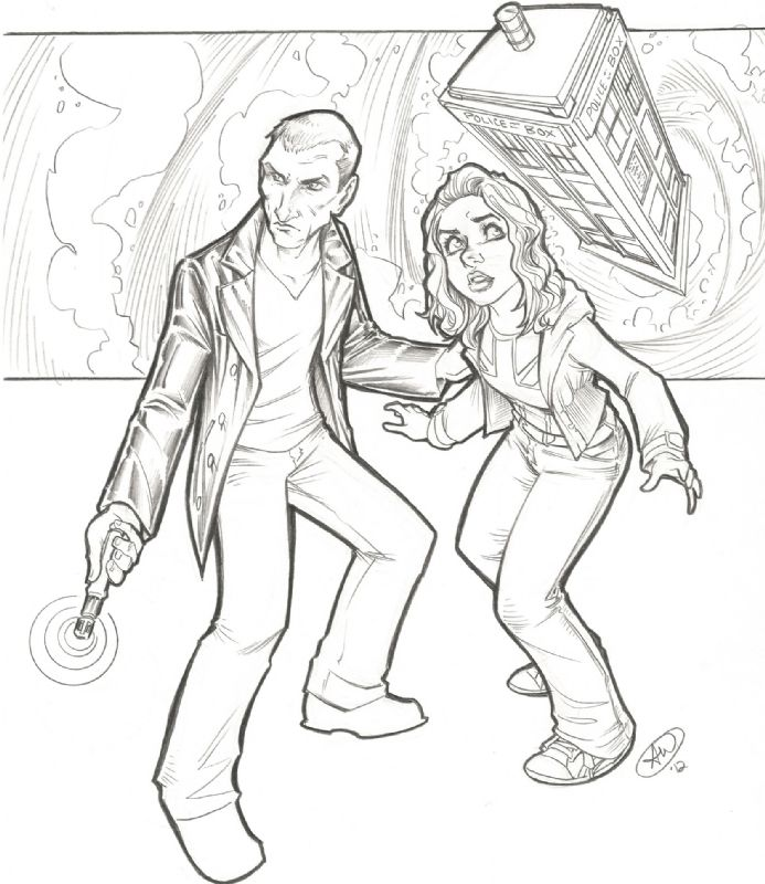 Doctor Who The 9th And Rose Tyler