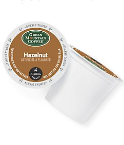 Green Mountain Coffee Hazelnut Coffee K-Cup Pod.  My go-to!!  Always have this or Gloria Jean's Hazelnut K-cups in the house. Green Mountain sells it in decaf, too. Tastes just as good :)