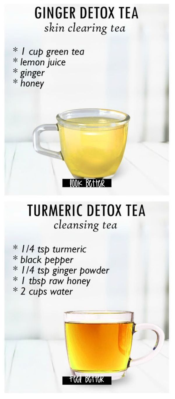 Clear your skin with ginger and turmeric.