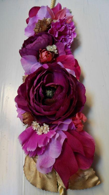 Cinturones de flores personalizados para la invitada perfecta Miss Daisy