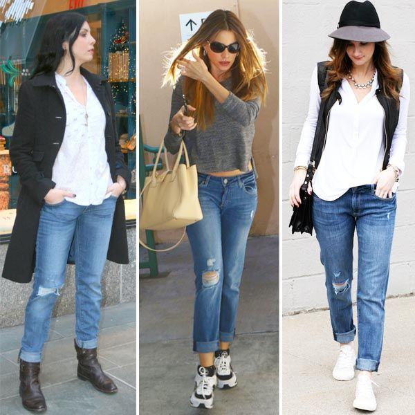 Почему-то именно эти бойфренды DL1961 Premium Denim приглянулись многим, включая Софию Вергару (Sofia Vergara). Еще бы! Они очень удобные. Мягкий деним невероятно приятен к телу. Ну а стильные рваности делают эти джинсы очень модными. Подобрать себе эти и другие варианты модных бойфрендов DL1961 вы сможете в JiST. Теперь еще и со скидками на некоторые модели.