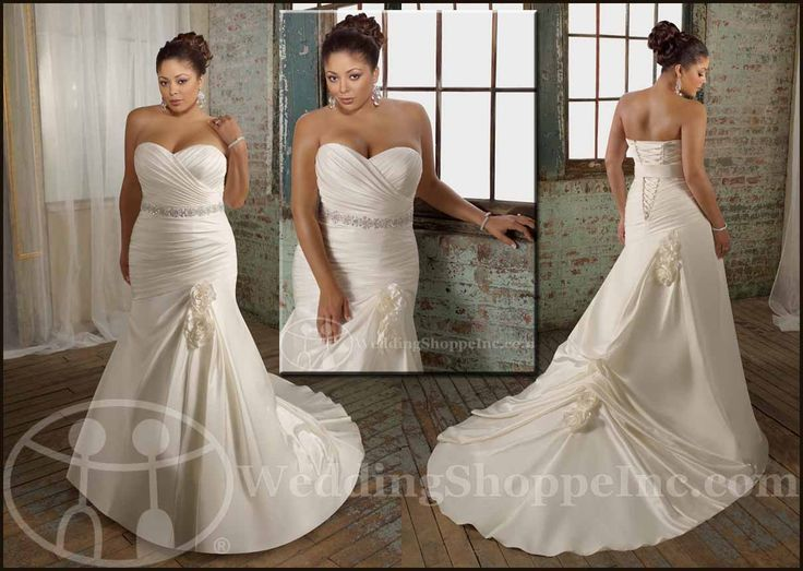 9 best my wedding dress images on pinterest short for Plus size wedding dresses for mature brides