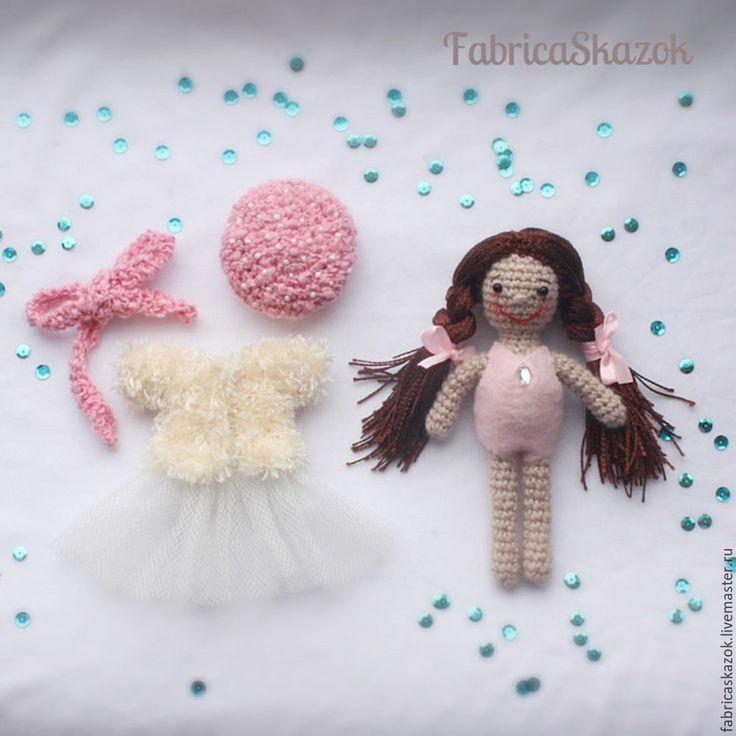 Купить Куколка Шатенка в пушистой шубке, игрушка для девочек - купить куклу в подарок, купить куклу