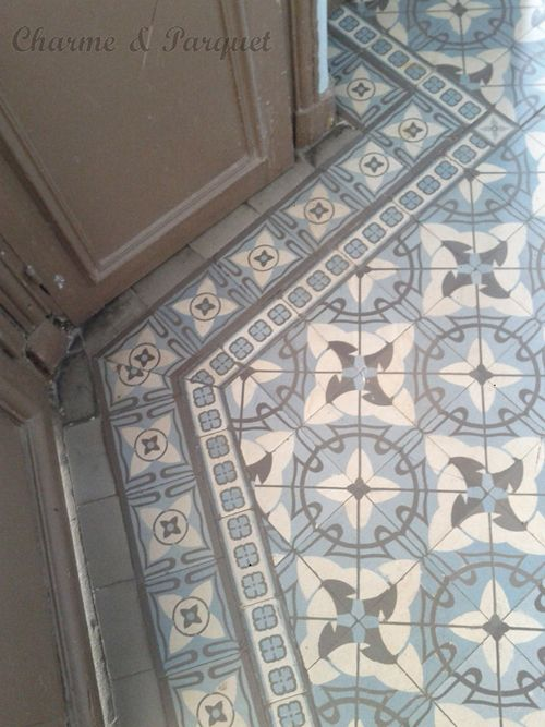 17 best images about carreaux de ciment on pinterest for Parquet carrelage paris 17