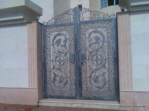 Художественная ковка в Самаре: кованые ворота, калитки, двери