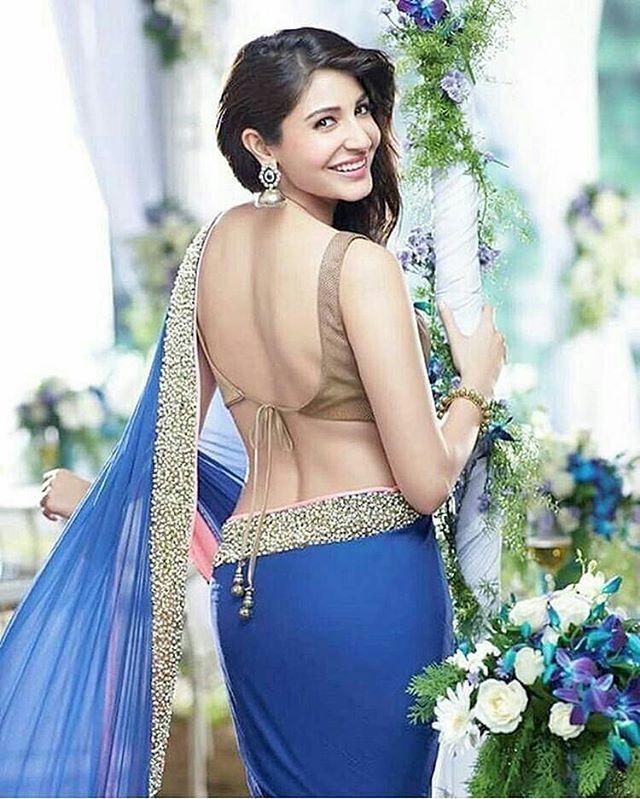 Love Anushka Sharma, such a stunner in Saree! @Bollywood ❤❤❤