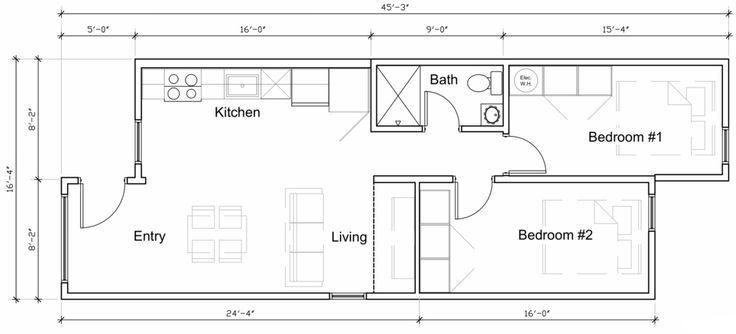 Indiedwell Model 6 Google Search Kleine Grundrisse Container Home Designs Grundriss