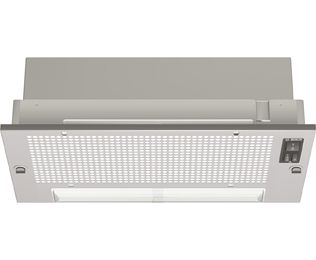 Product image for Bosch Serie 2 55 cm Canopy Cooker Hood - Silver Grey - E Rated