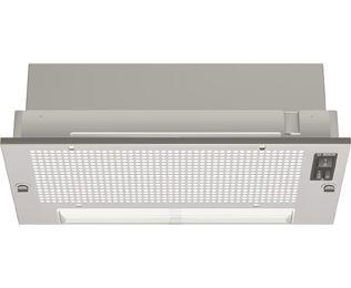 Bosch Classixx DHL535BGB 55 cm Canopy Cooker Hood - Silver Grey