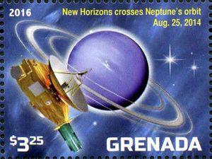 New Horizon crosses Neptune's orbit