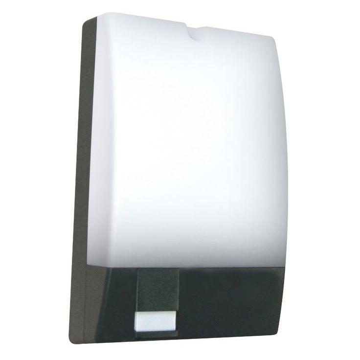 Eterna outdoor wall light with pir sensor