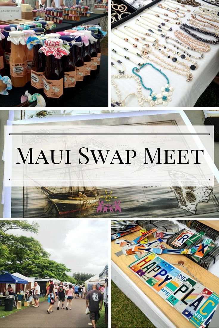 Why the Maui Swap Meet is the go-to place to pick up great Hawaii gifts and souvenirs.