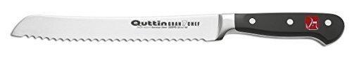 Oferta: 5.99€ Dto: -58%. Comprar Ofertas de Quttin Grand Chef - Cuchillo panero, 22 centímetros barato. ¡Mira las ofertas!