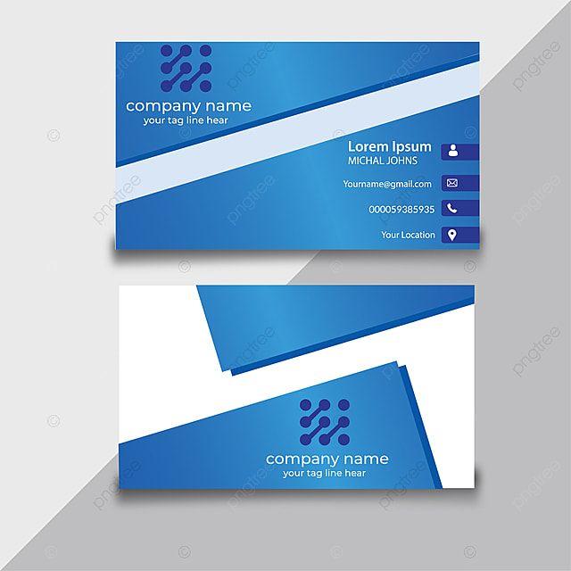 تصميم بطاقة الأعمال قالب In 2021