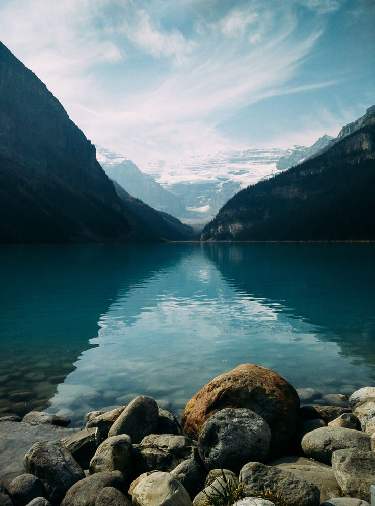 Lake Louise From the Shoreline