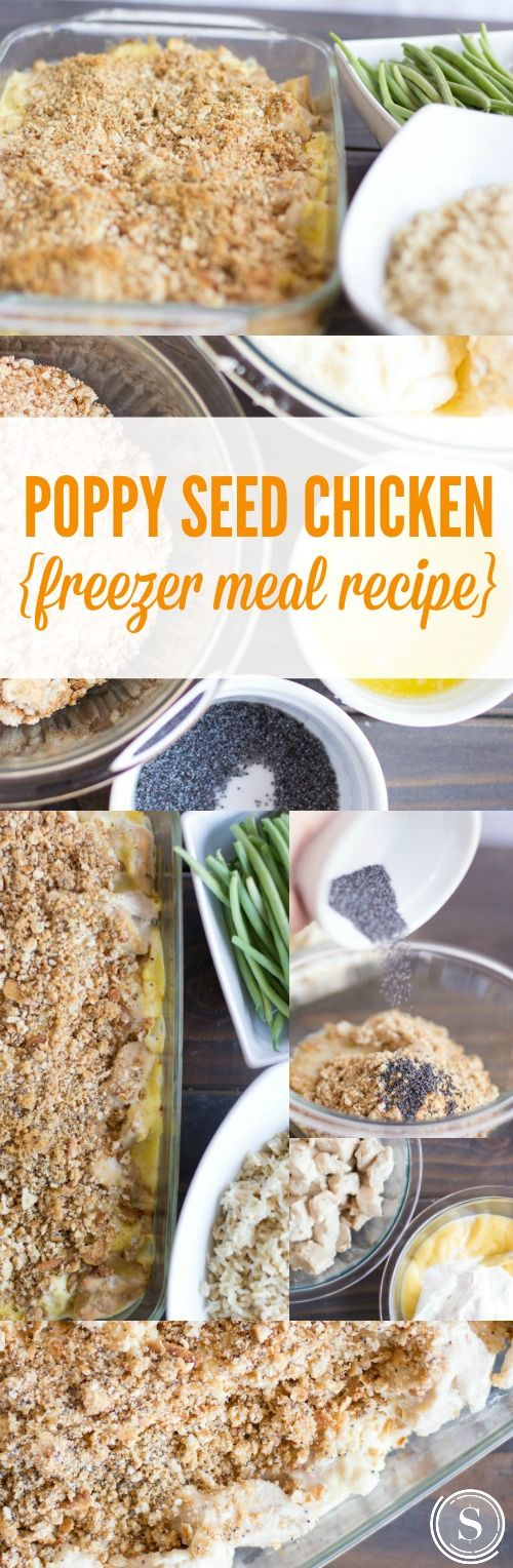 recipe for poppy seed chicken with rice