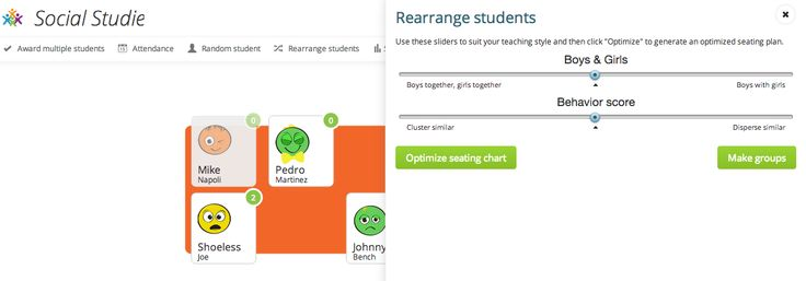 ClassCharts Helps You Formulate Seating Plans Based on Behavior Data