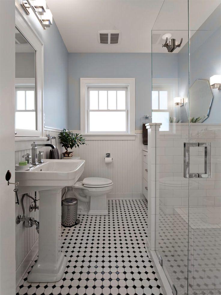 Ideias Para Banheiro Preto E Branco : Melhores ideias sobre banheiro preto e branco no