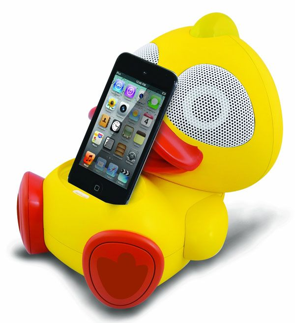 Electric Friends Animal Themed Speakers For IPhone IPod