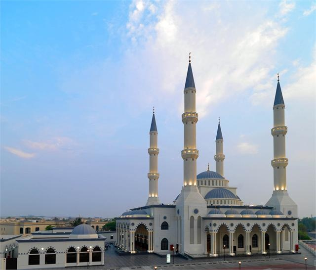 Al Farooq Mosque - Dubai, UAE