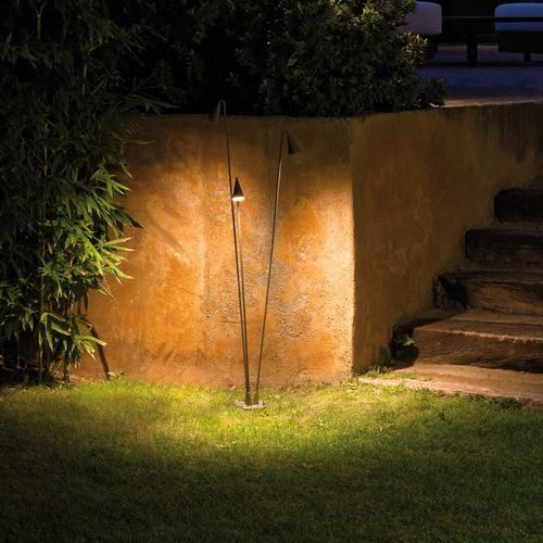Floor-standing lamp / contemporary / outdoor / polycarbonate BRISA  VIBIA LIGHTING