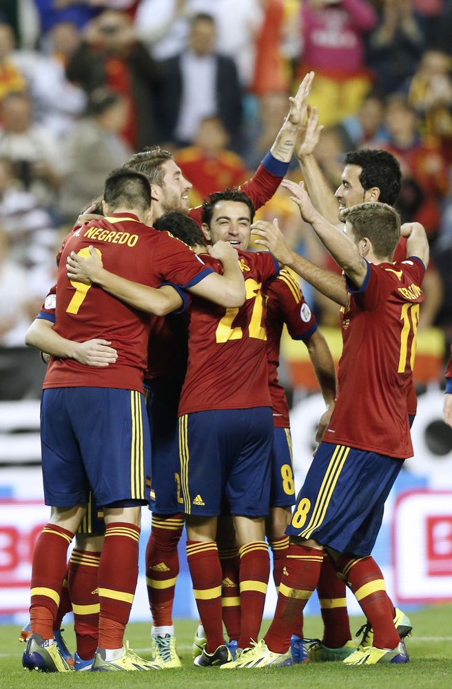 World Cup 2014: All 32 Teams Playing In Brazil - Spain