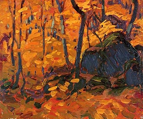 Algoma Bush, Autumn by J.E.H. MacDonald