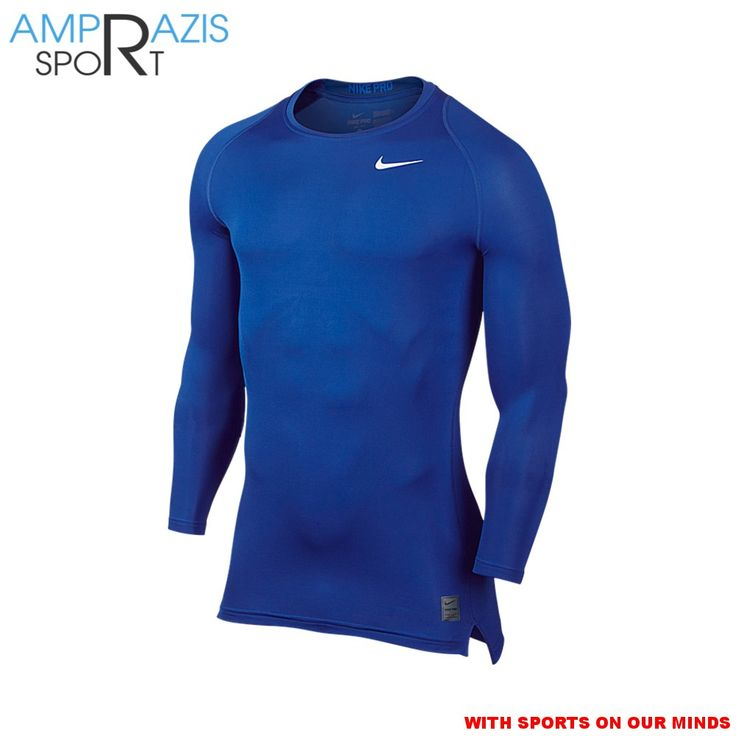 Nike Pro Cool Top (Blue)