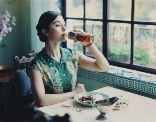 おなじみのウーロン茶広告写真が中国のネット上で人気 (13)--人民網日本語版--人民日報