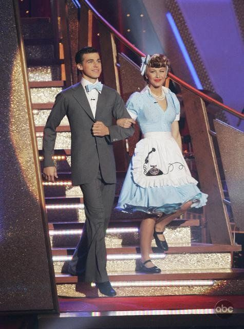 Still of Cody Linley and Julianne Hough in Dancing with the Stars
