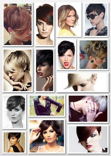 2016  short women hairstyles -2016 kadın kısa saç kesim modelleri