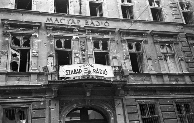 Bródy Sándor utca 5-7., Magyar Rádió.