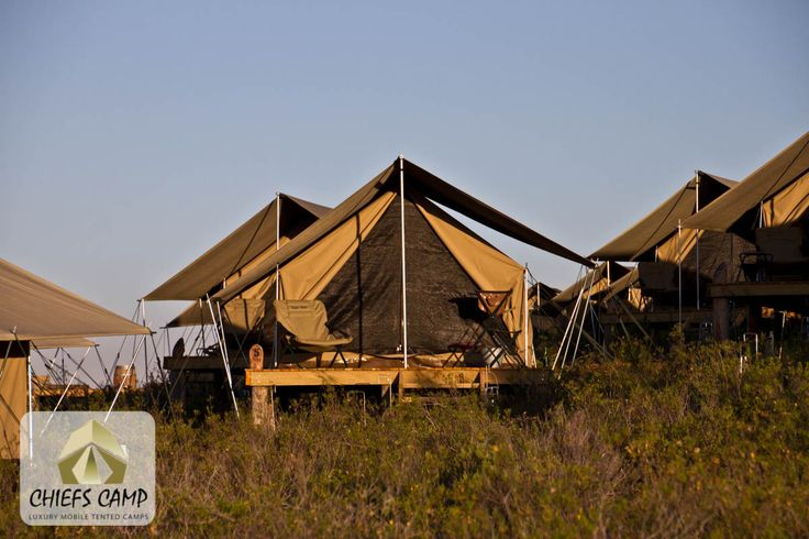 Chief's Luxury Mobile Tented Camp - Colonial Tents