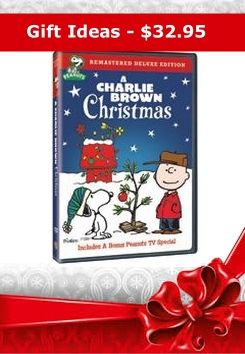 Order your copy of one of the best loved Christmas Holiday specials - A Charlie Brown Christmas, now available in this Remastered Deluxe DVD Edition, Only $32.95