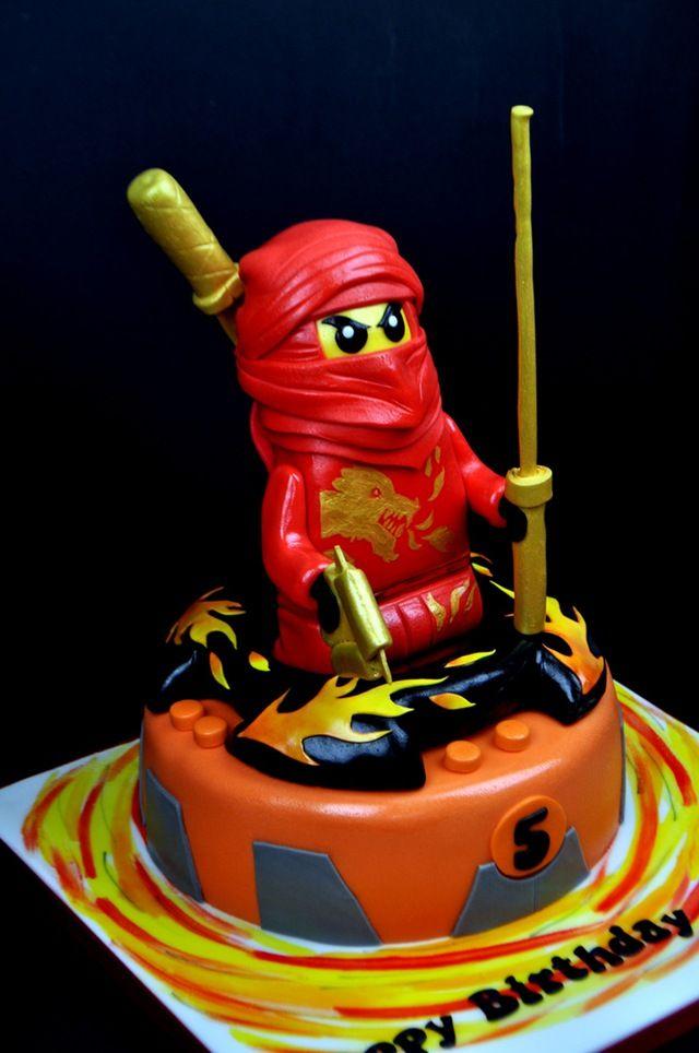 Awesome LEGO Ninjago Cake