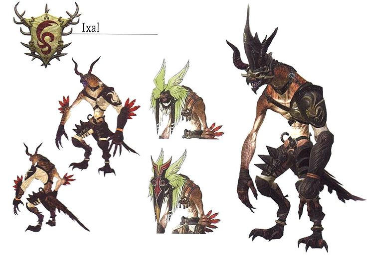 Ixal from Final Fantasy XIV: A Realm Reborn