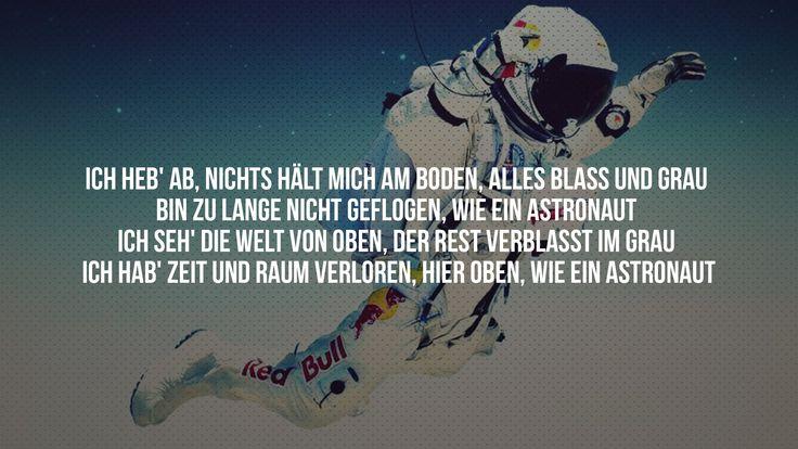 SIDO - Astronaut (feat. Andreas Bourani) aus dem Album VI  [Karaoke / Ly...